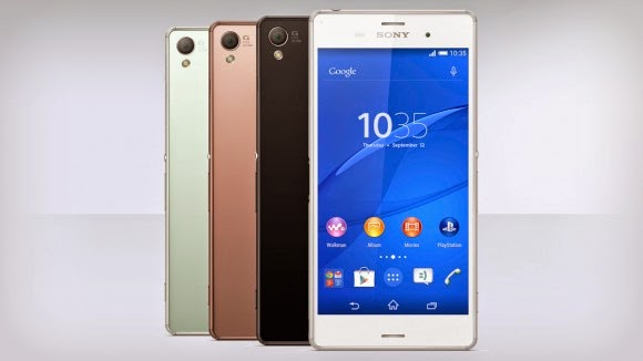 Sony Xperia Z3, Sony Xperia Z3 vs Samsung Galaxy S5, new smartphone, Android smartphone, PS4 games, Full HD video, 4K video