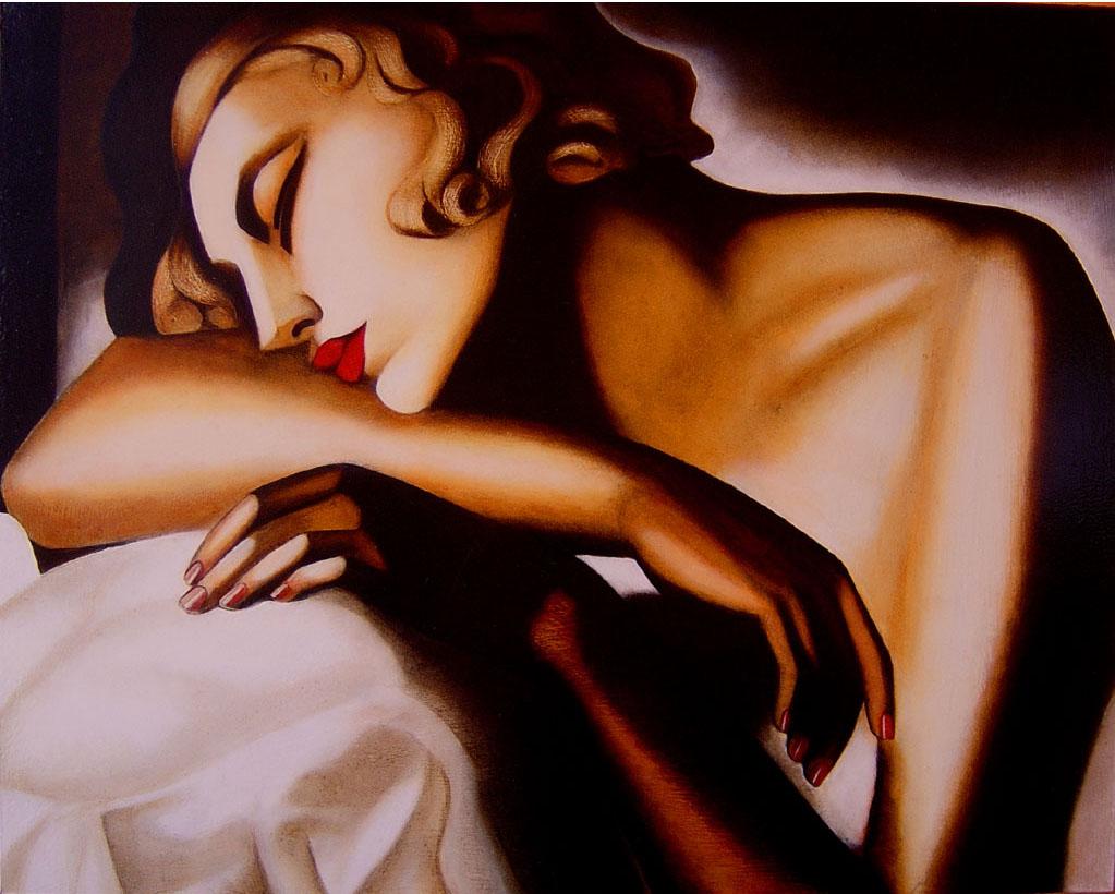 MUJERES DORMIDAS - Página 2 Mujer+dormida