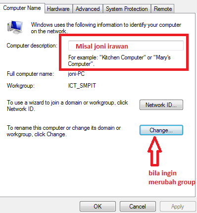 how to change windows xp owner name