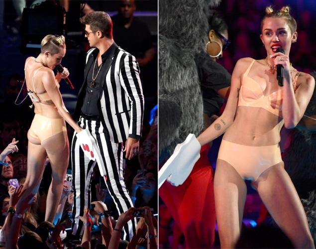 Kostum Miley Cyrus di MTV