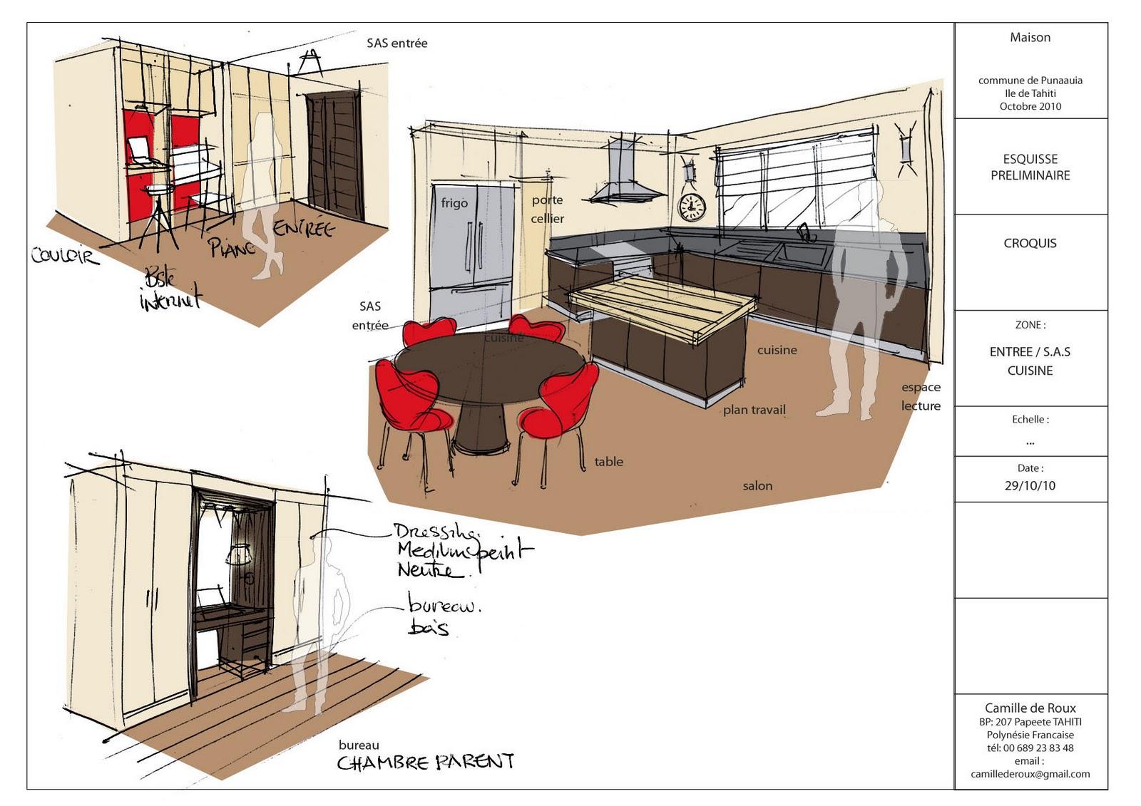 camille de roux architecte d 39 int rieur. Black Bedroom Furniture Sets. Home Design Ideas