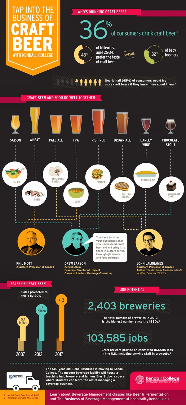 Craft Beer Infographic