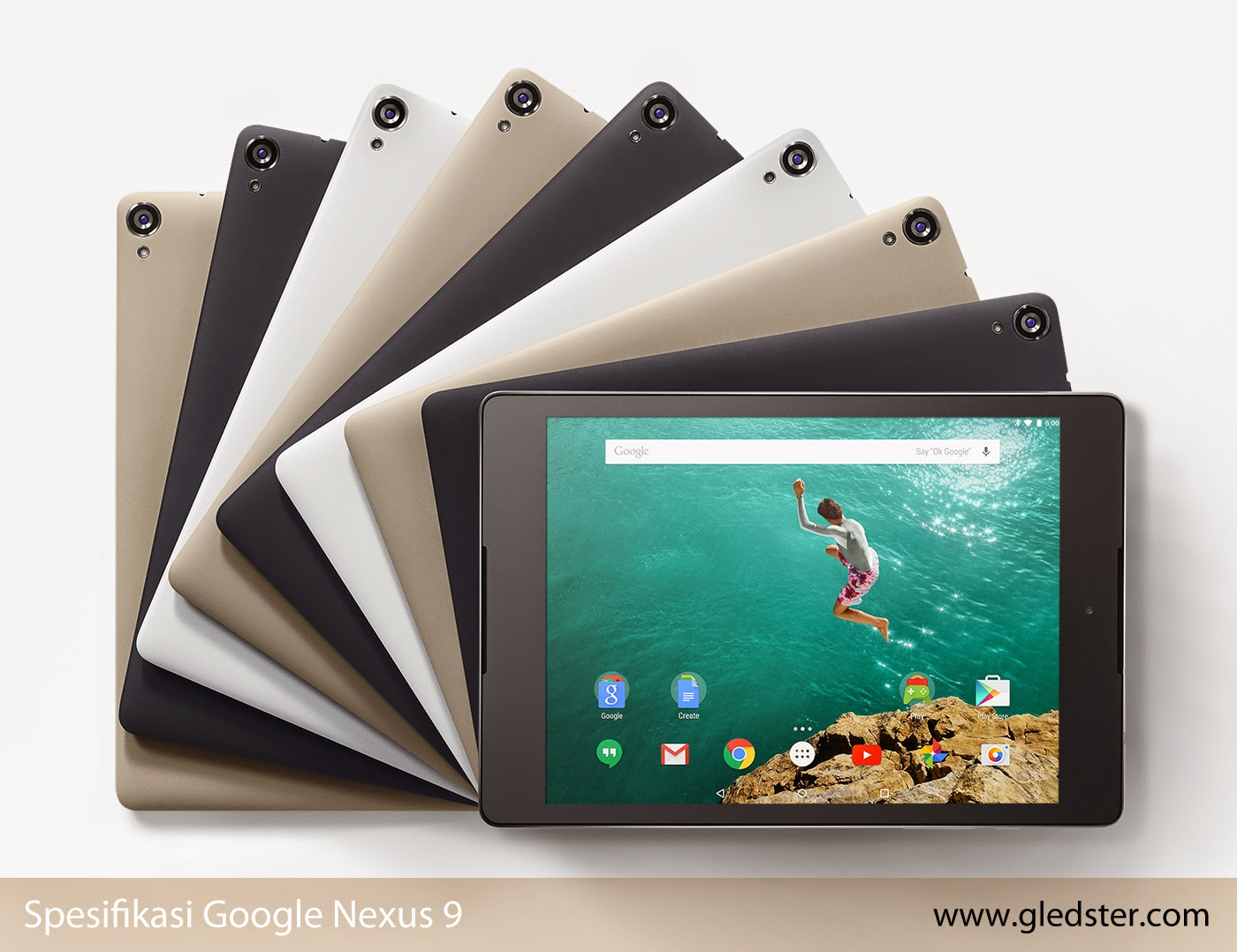 Spesifikasi Google Nexus 9