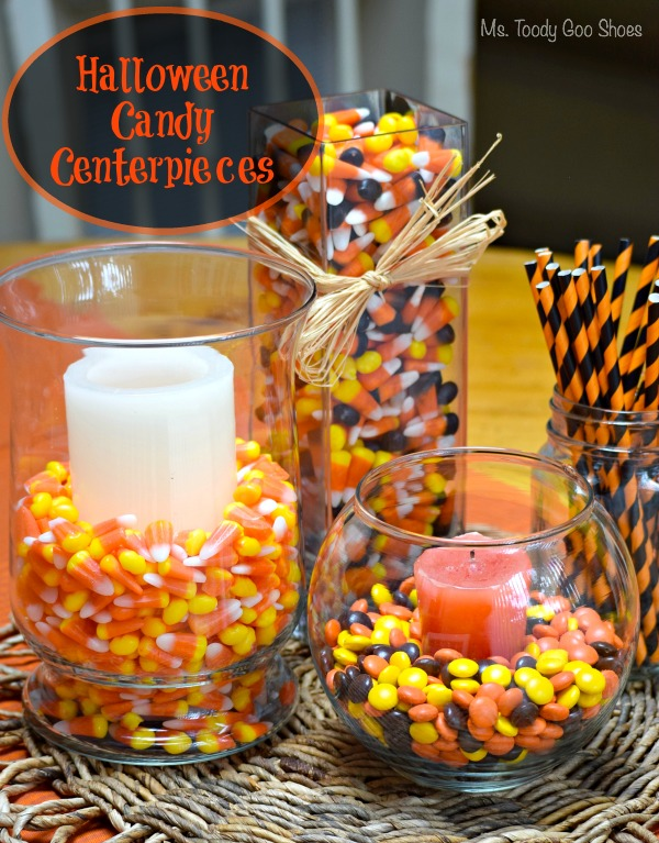 Ms toody goo shoes halloween candy centerpieces