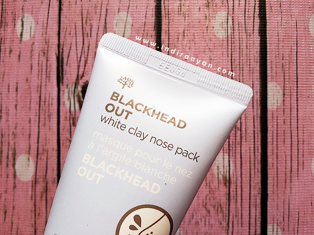 The Face Shop Blackhead Out White Clay Nose Pack, The Face Shop Blackhead Out, Face Shop Blackhead Out