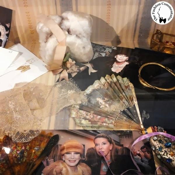 Valentina Cortese - Mostra Milano - Accessories