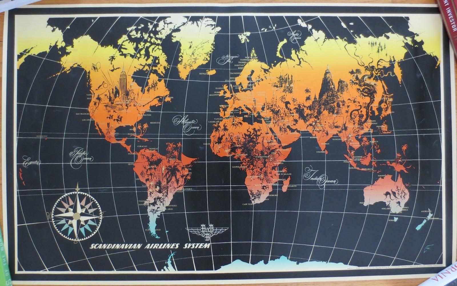 sas world map 29x18 inches 1 original