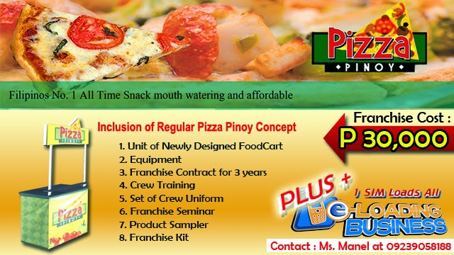 Foodcart For Franchise - A Thin Pizza Food Concept Offered in the Philippines.