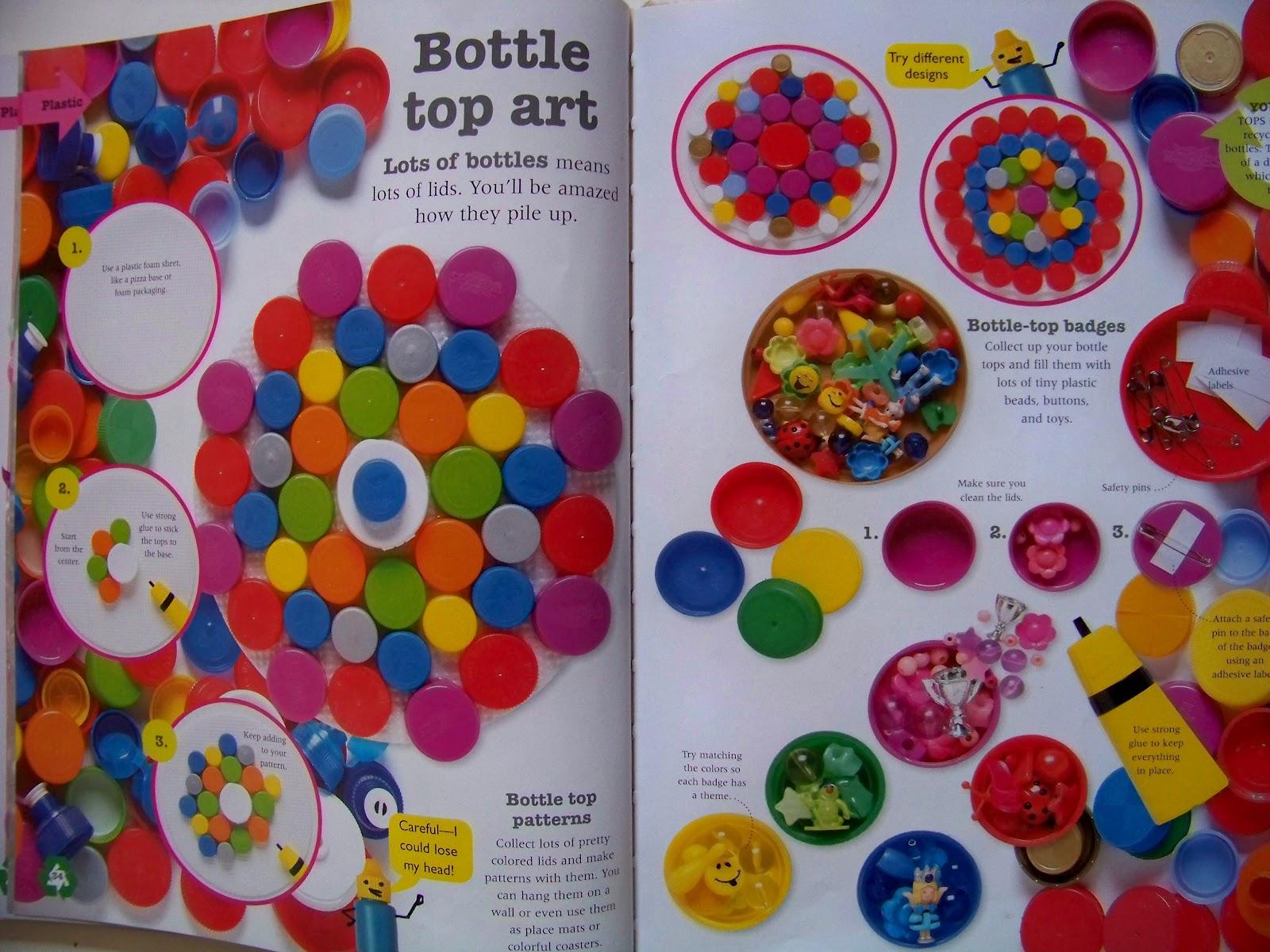 Candice ashment art reduce reuse recycle bottle cap art diy wall art - Plastic bottle caps crafts ideas ...
