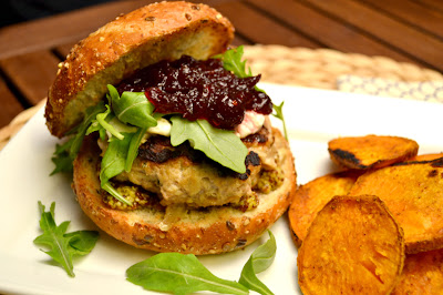 herbed turkey burgers recipe