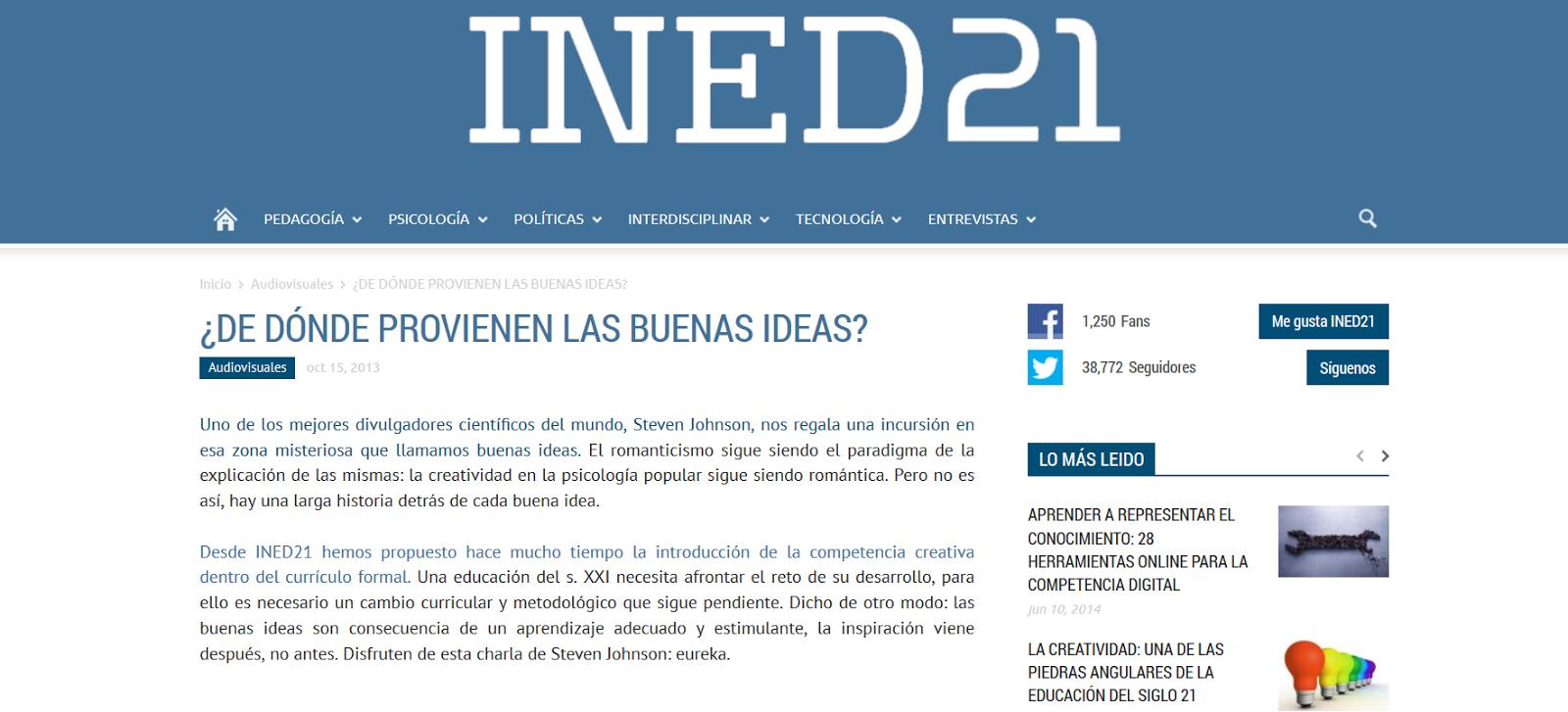 http://ined21.com/de-donde-provienen-las-buenas-ideas/