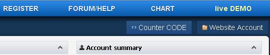 Anda klik COUNTER CODE (lihat gambar-nya mas bro..)dan klik