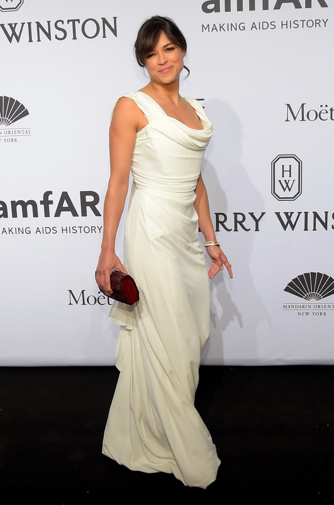 Celebrity Fashion at the 2015 amfAR Gala in New York City