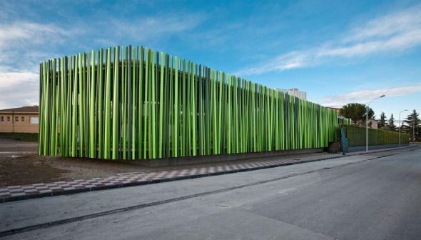 Arquitectura ef mera materiales reciclados for Pabellones arquitectura efimera
