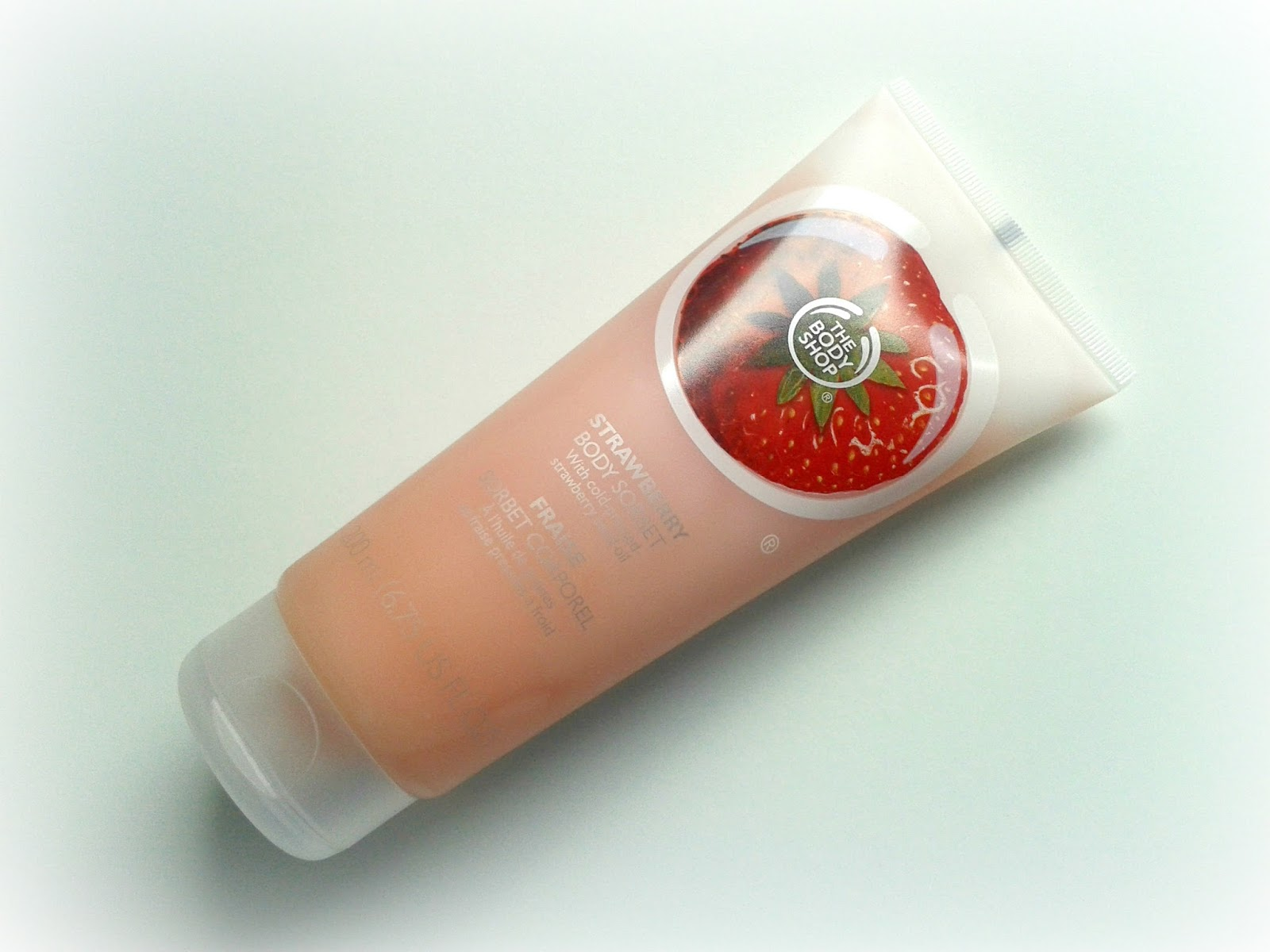 The Body Shop Strawberry Body Sorbet Beauty Review