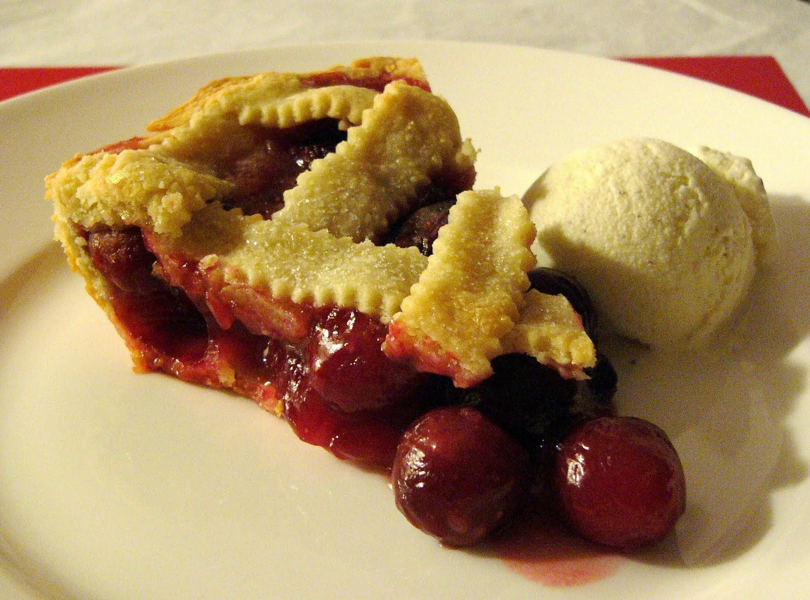 Kikki's Kitchen ♥: Traditional Cherry Pie