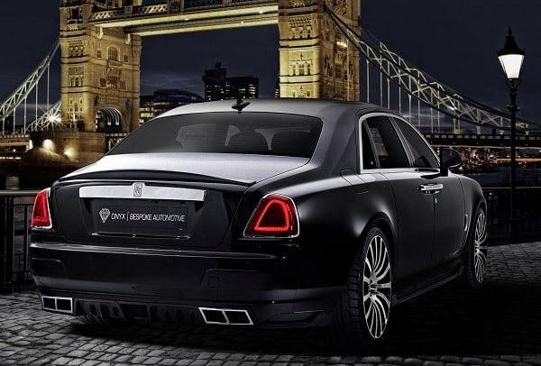 Rolls Royce Ghost San Moritz