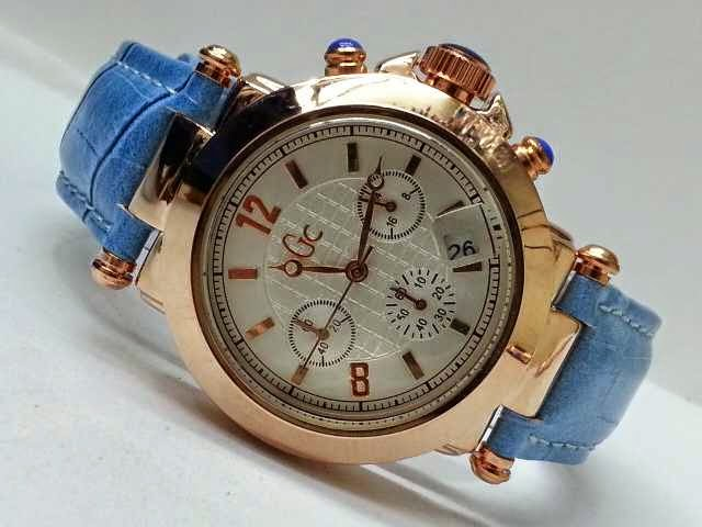 Guess GC Triple Chrono biru