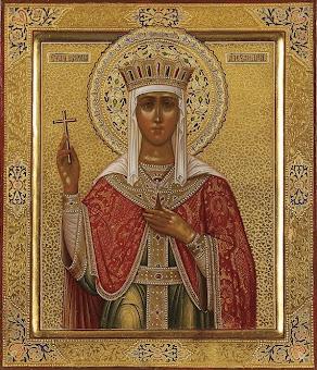 Astazi 21 aprilie praznuirea Sfintei Alexandra Imparateasa !