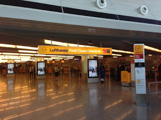 Lufthansa First Class Lounge, Frankfurt