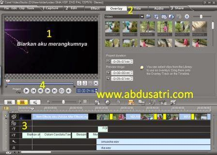 tutorial edit video mudah