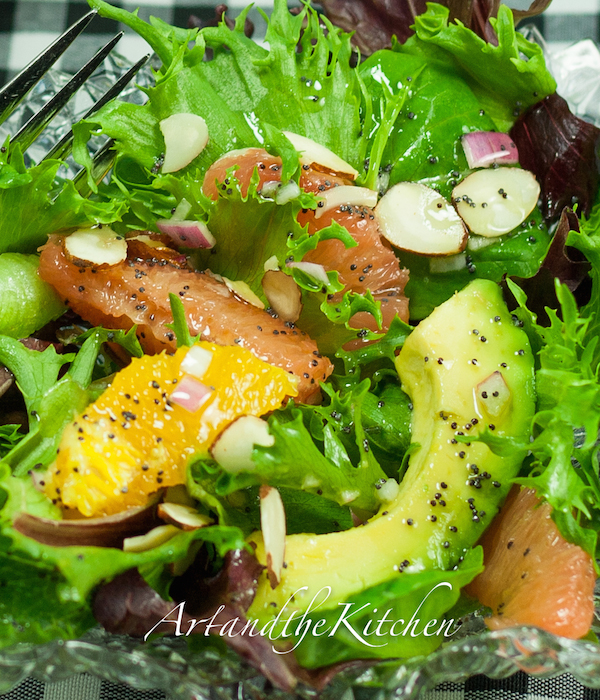 ArtandtheKitchen: Avocado Citrus Salad