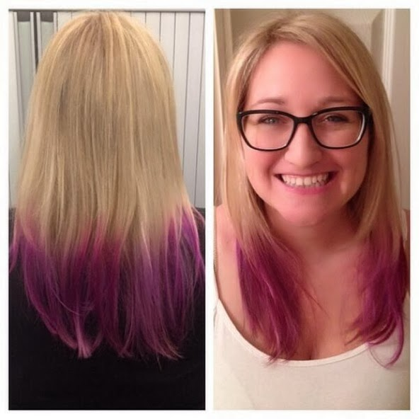 Radiant Orchid Dip Dye
