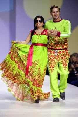 RUSSIA MOSCOW FASHION WEEK
