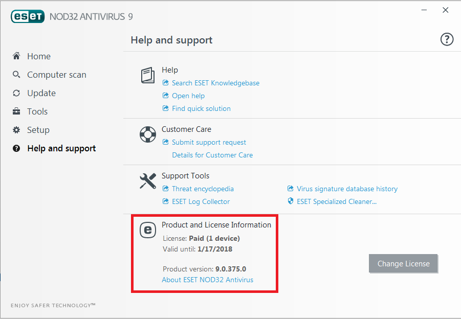 eset nod32 9 activation key