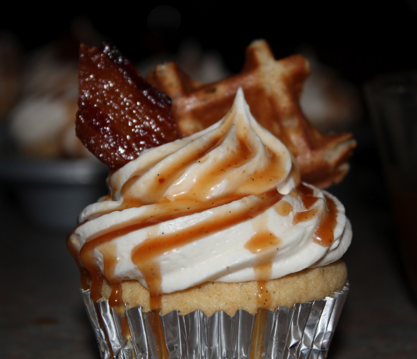 ... Maple Hazelnut Buttercream & Bourbon Caramel | High Altitude Cupcakes