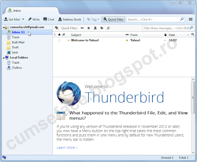 yahoo thunderbird