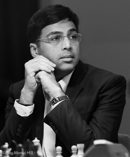 Vishy Anand en el London Chess Classic 2015