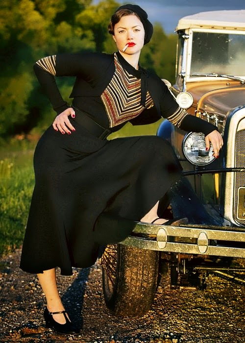 Bonnie And Clyde History Bonnie Parker S Iconic Sweater Dress Are