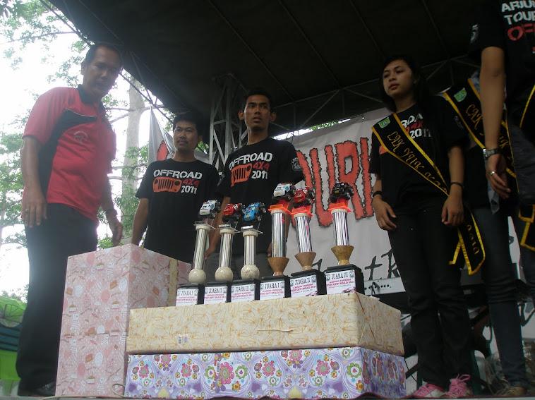 juara l mas Eko/ Budi, Juara 3 Mas Totok Gunawan