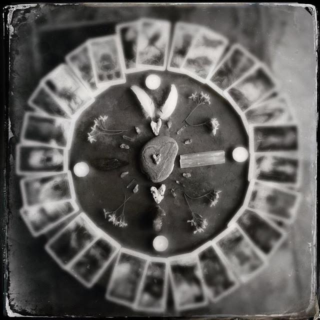 Galia Alena Medicine Wheel,  wheel of the year