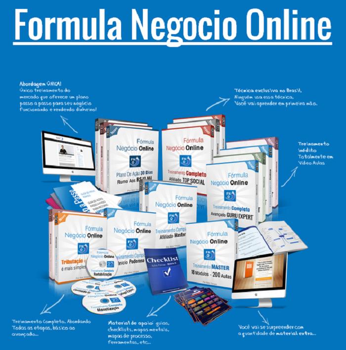 Formula Negócio Online de Alex Vargas como ganhar dinheiro na internet