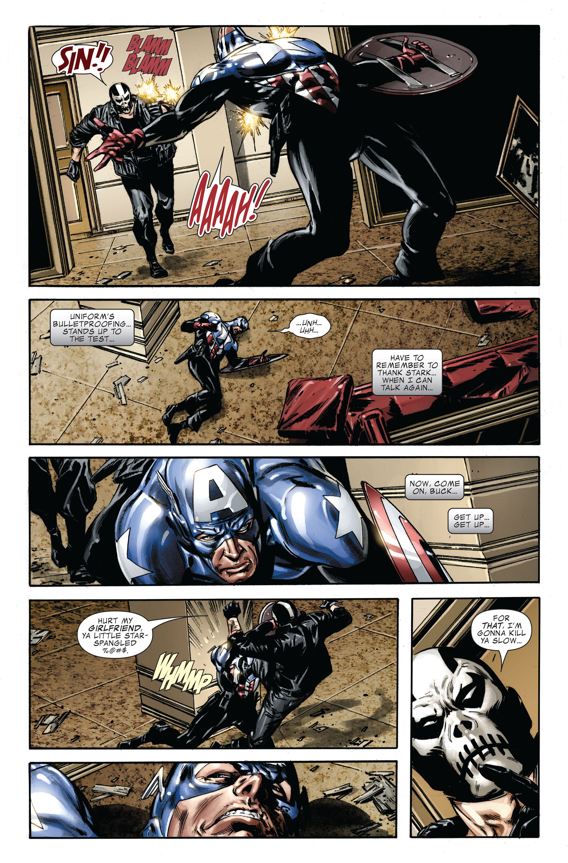 Captain America (2005) Issue #36 #36 - English 7