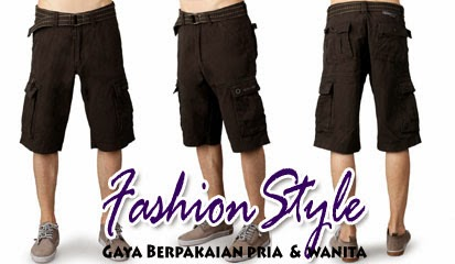 Model Celana Pendek Pria Dark Grey New Hoffer Shorts by Jack & Jones