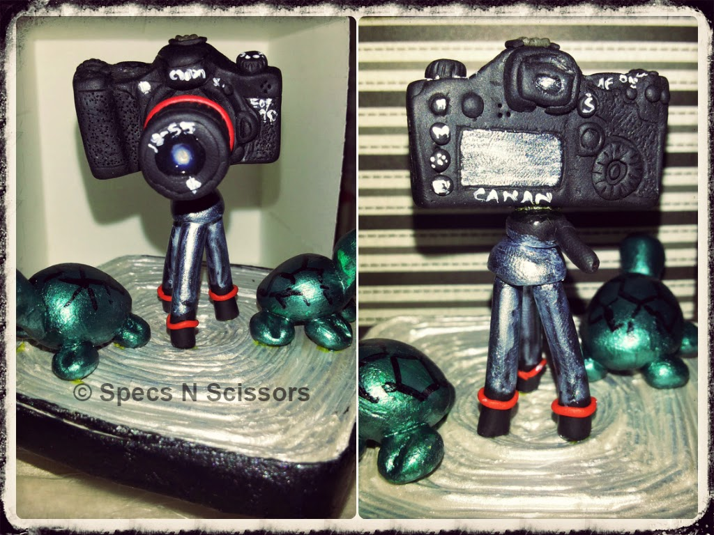 Specs N Scissors - Customized Gifts - Camera