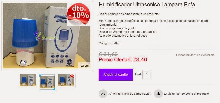 Hoza acogedora personales humidificador natural - Humidificador casero bebe ...