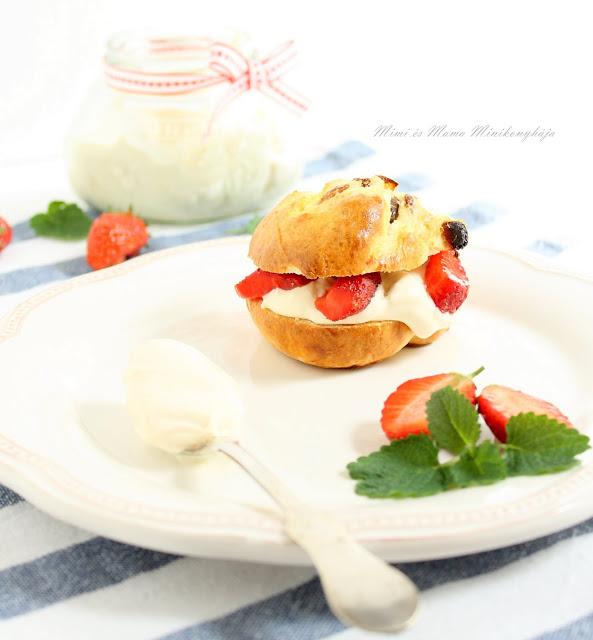Scone, az angol édespogácsa