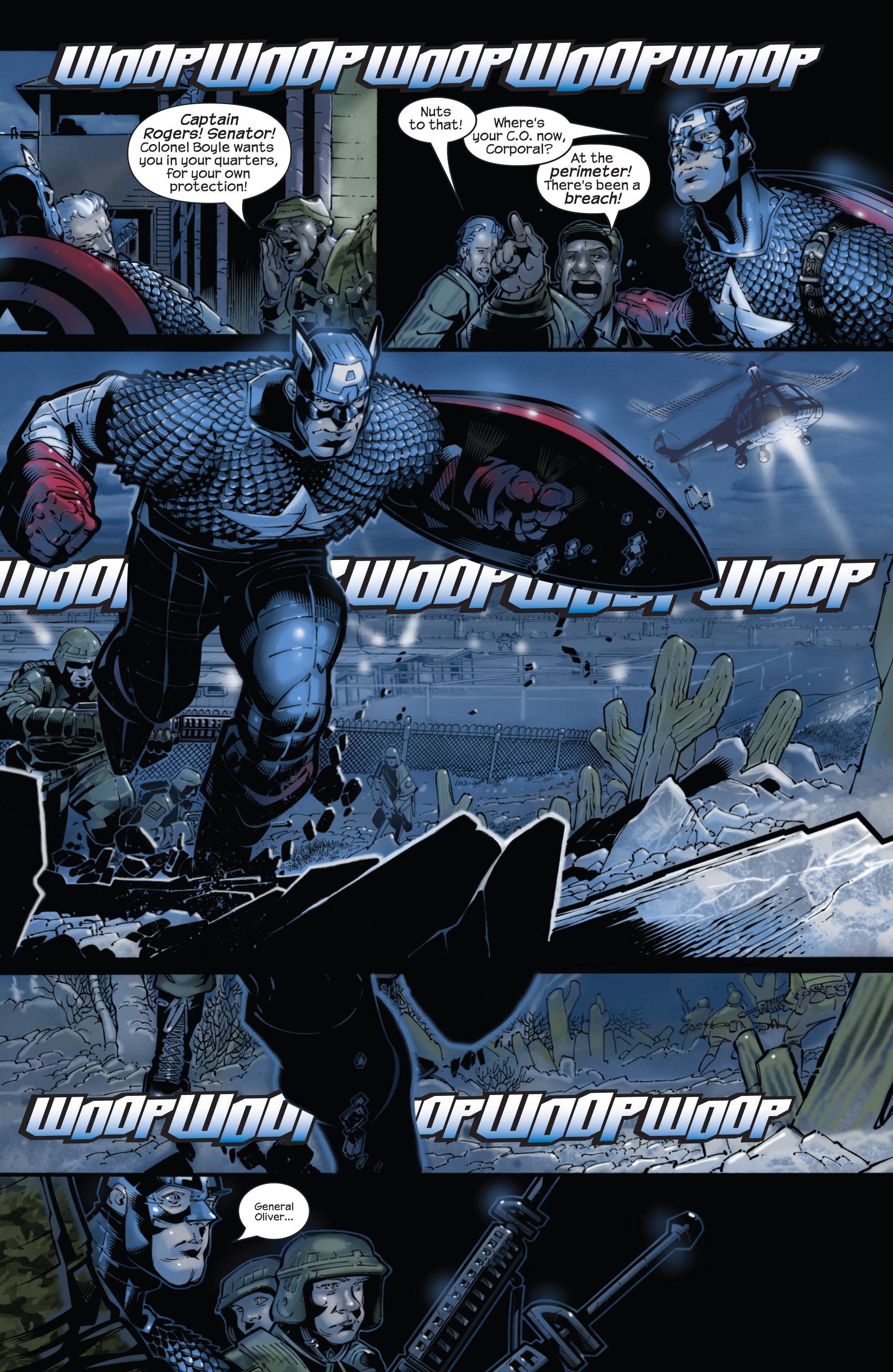 Captain America (2002) Issue #22 #23 - English 22