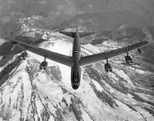 B-52 from the 1950's