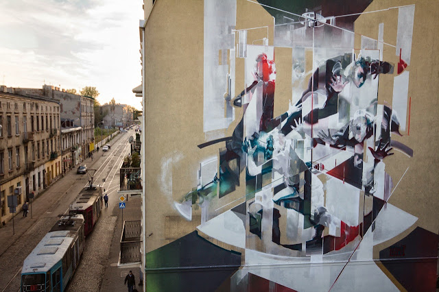 Street Art By Polish Artist Tone For Fundacja Urban Forms 2013 In Lodz, Poland. 3