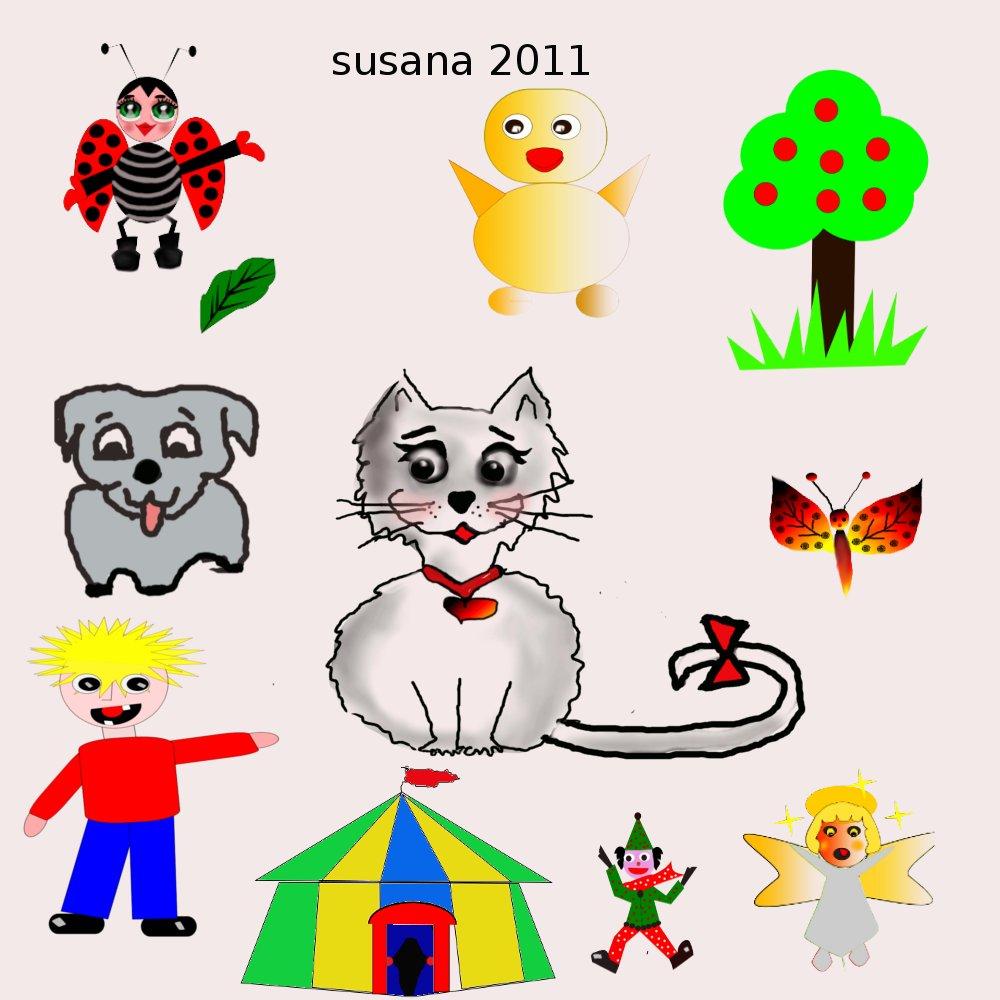 Arte susana brochas para mis ilustraciones infantiles - Ilustraciones infantiles antiguas ...
