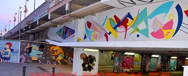 Graffitis Sant Adrià del Besòs 2014