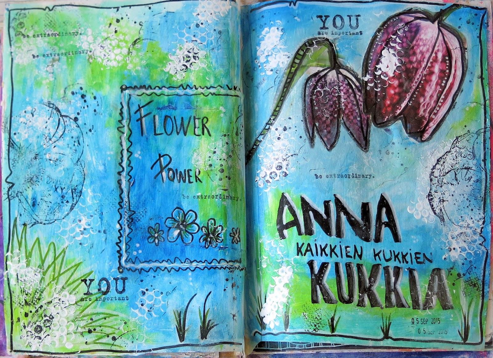 anna kaikkien kukkien kukkia Kauhajoki