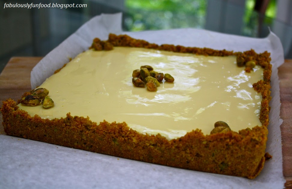 Fabulously fun food double take key lime bars with for Lemon meringue pie with graham cracker crust