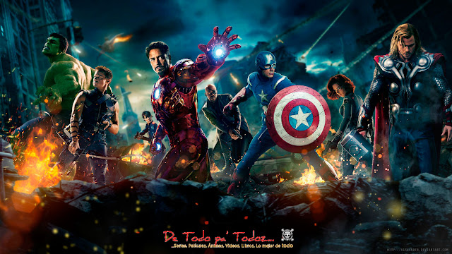 Película - The Avengers (2012) Los Vengadores BlueRay BrRip 720p ...