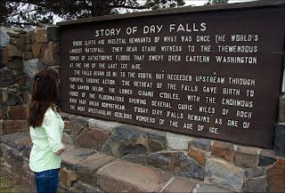 Teresa Foster at Dry Falls State Park